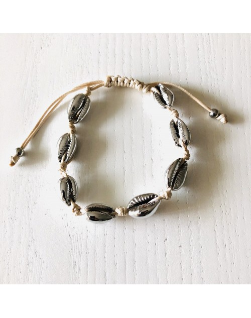 Bracelet coquillages fantaisie